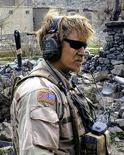 Sergeant Jeremy Wright, 1st Special Forces Group (Airborne). Winter 2004. Afghanistan.