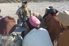 Captain Ken Barr, Khowst Province, Afghanistan. January 2005.