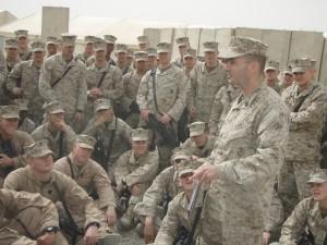 Michael Burke, Iraq 2008