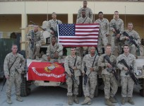 Eric Swinney (Top Center), Iraq 2006