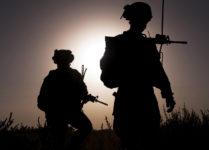 Sgt. Ryan McCreary and Capt. Francisco Zavala, India Company. Trek Nawa, Afghanistan. September 2010.