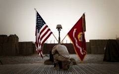 3/3 honors fallen Marine in Afghanistan