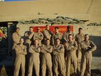 Kilo Headquarters Section, OP Omar, Iraq. December 2007