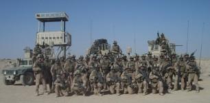 Kilo Second Platoon. Camp Fallujah, Iraq. November 2007.
