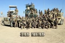 Kilo Third Platoon, Camp Fallujah, Iraq. November 2007