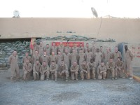Kilo Weapons Platoon. OP Omar, Iraq. November 2007.