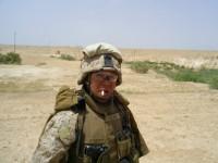 Lance Corporal Hatak Yuka Keyu Yearby, H&S Company. Anbar Province, Iraq. 4 May 2006